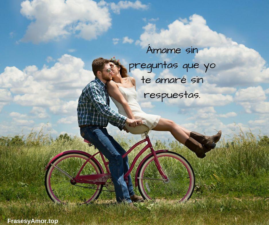 Frases bonitas de amor para enamorar