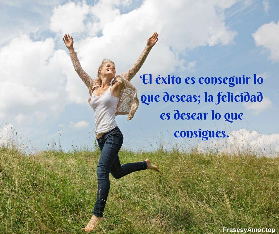 Frases de felicidad y alegria