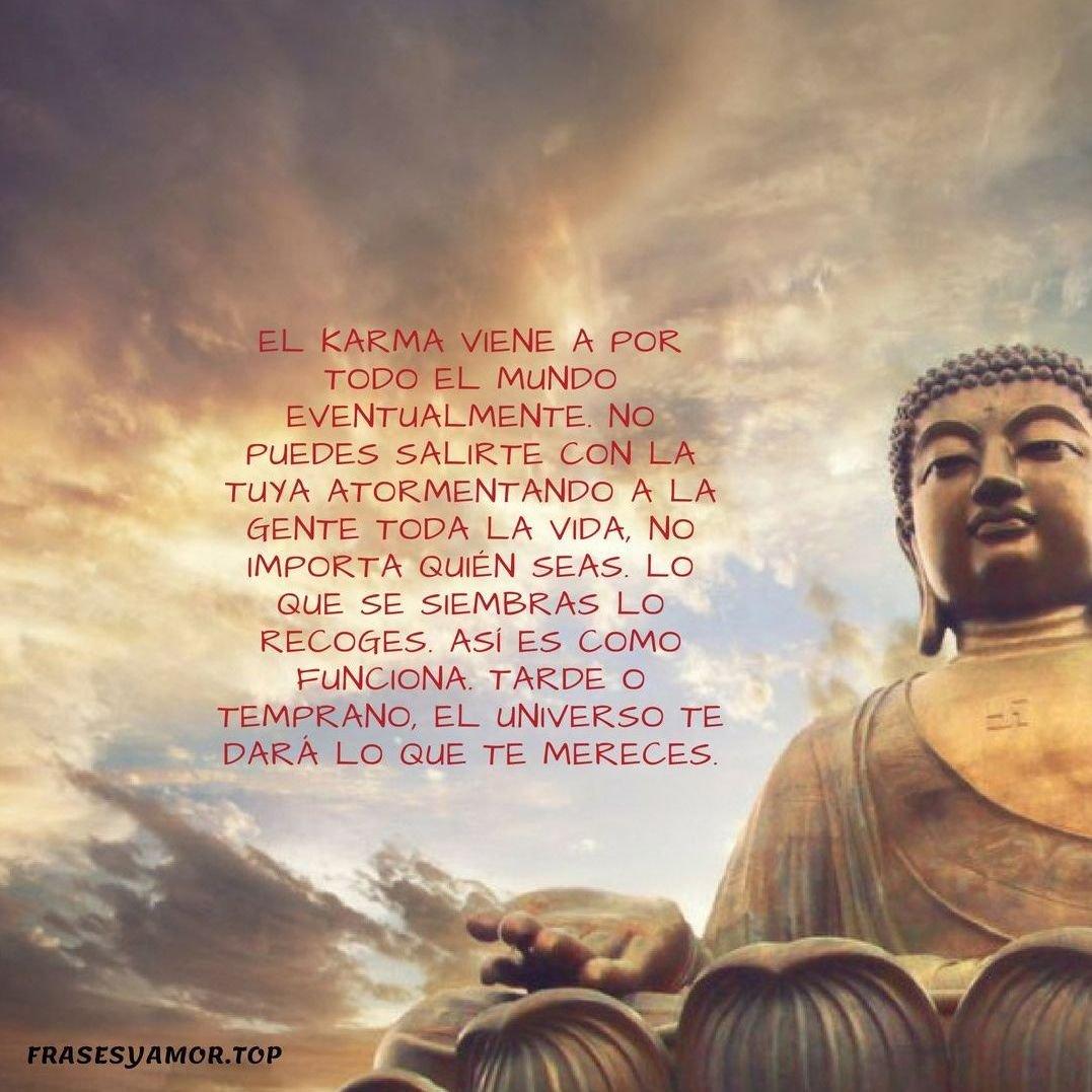 Frases del karma desamor